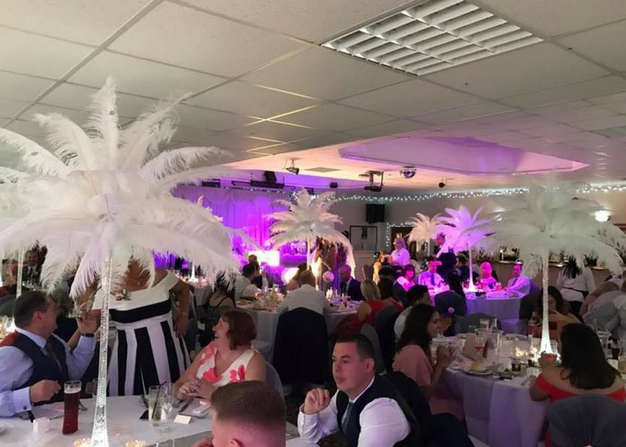 Wedding reception venue in Oldham