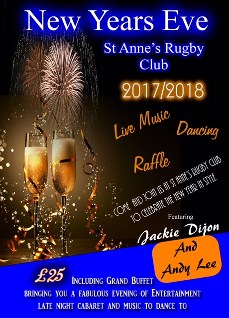 St Annes Rugby Club Oldham Function Room
