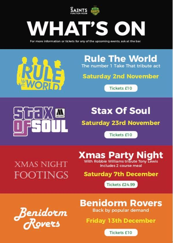 New Years Eve 2017/18 at St Annes Rugby Club